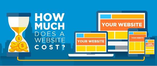 Website design cost in Kenya