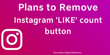 Instagram plans to remove the 'Likes' button on their platform